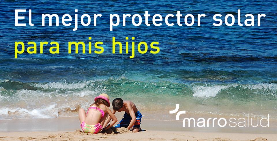 El mejor protector solar