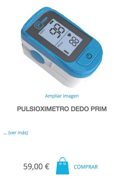 Pulsioxímetro