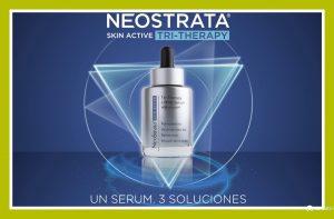 3 soluciones en un sólo serum: NEOSTRATA SKIN ACTIVE TRI-THERAPY