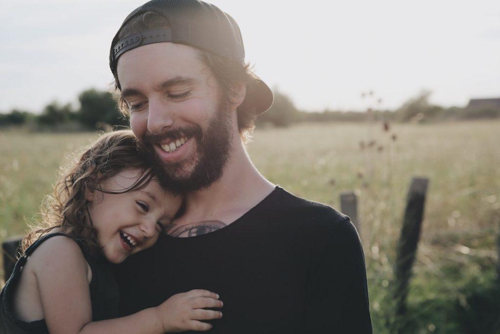padre con hija