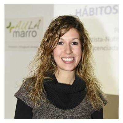 Patricia Lambea, dietista-nutricionista