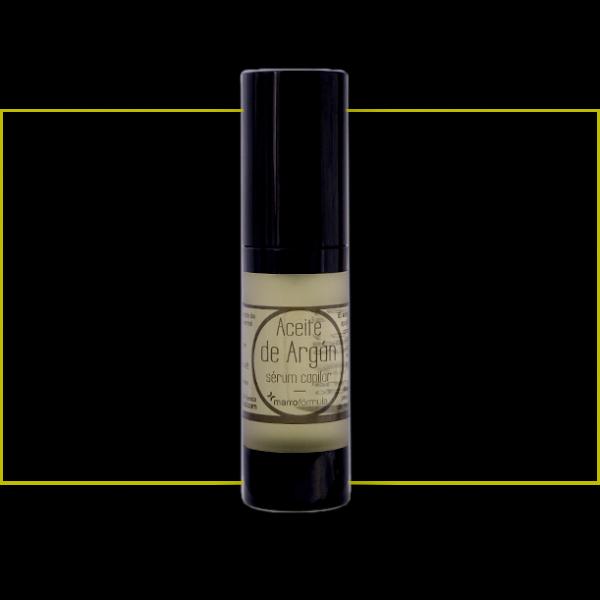 Aceite de argán marrofórmula