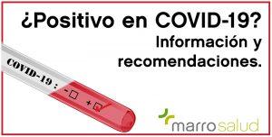 Positivo en COVID-19