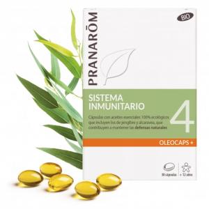 Pranarom 4 – Sistema inmunitario – 30 cápsulas