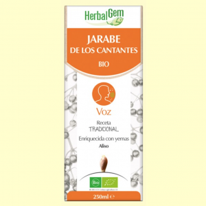 Jarabe de los Cantantes – Herbal Gem – 250 ml