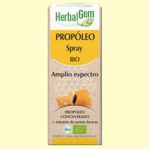 Propóleo Spray Amplio Espectro Bio – Herbal Gem – 15 ml
