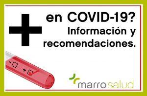 ¿PCR Positivo en COVID-19? Información y recomendaciones útiles