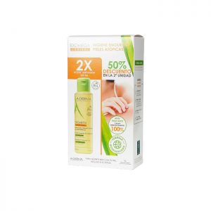 Duplo A-derma Exomega Control Aceite Limpiador 2 unidades de 500ml