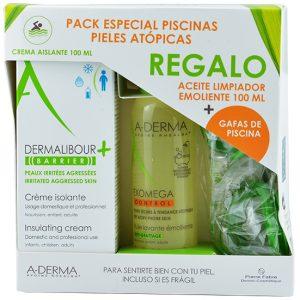 Pack Dermalibour Barrier + Aceita Exomega + Regalo Gafas Piscina
