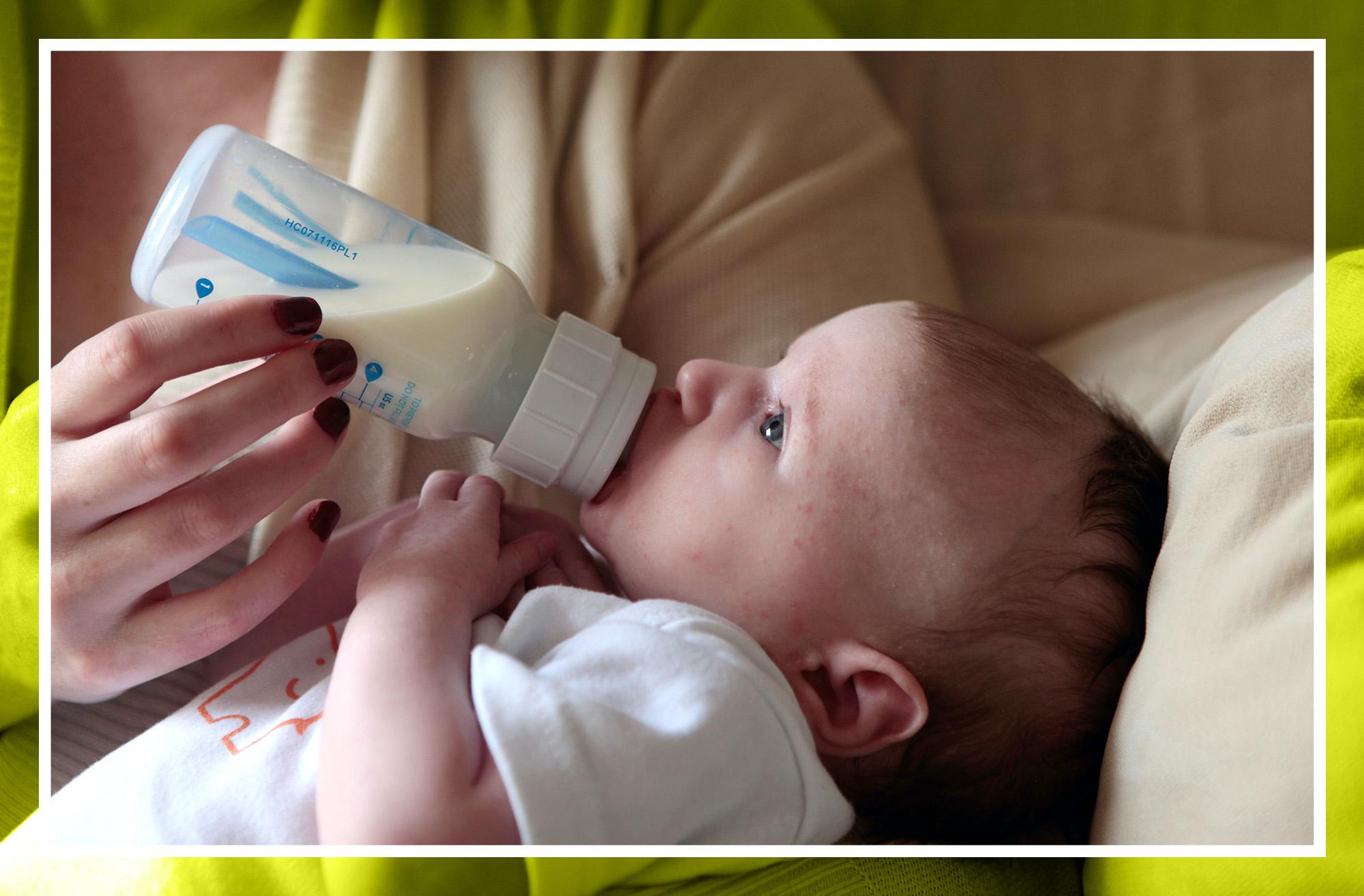 Mi bebé es intolerante a la lactosa