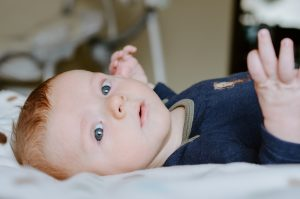 bebé 7 semanas
