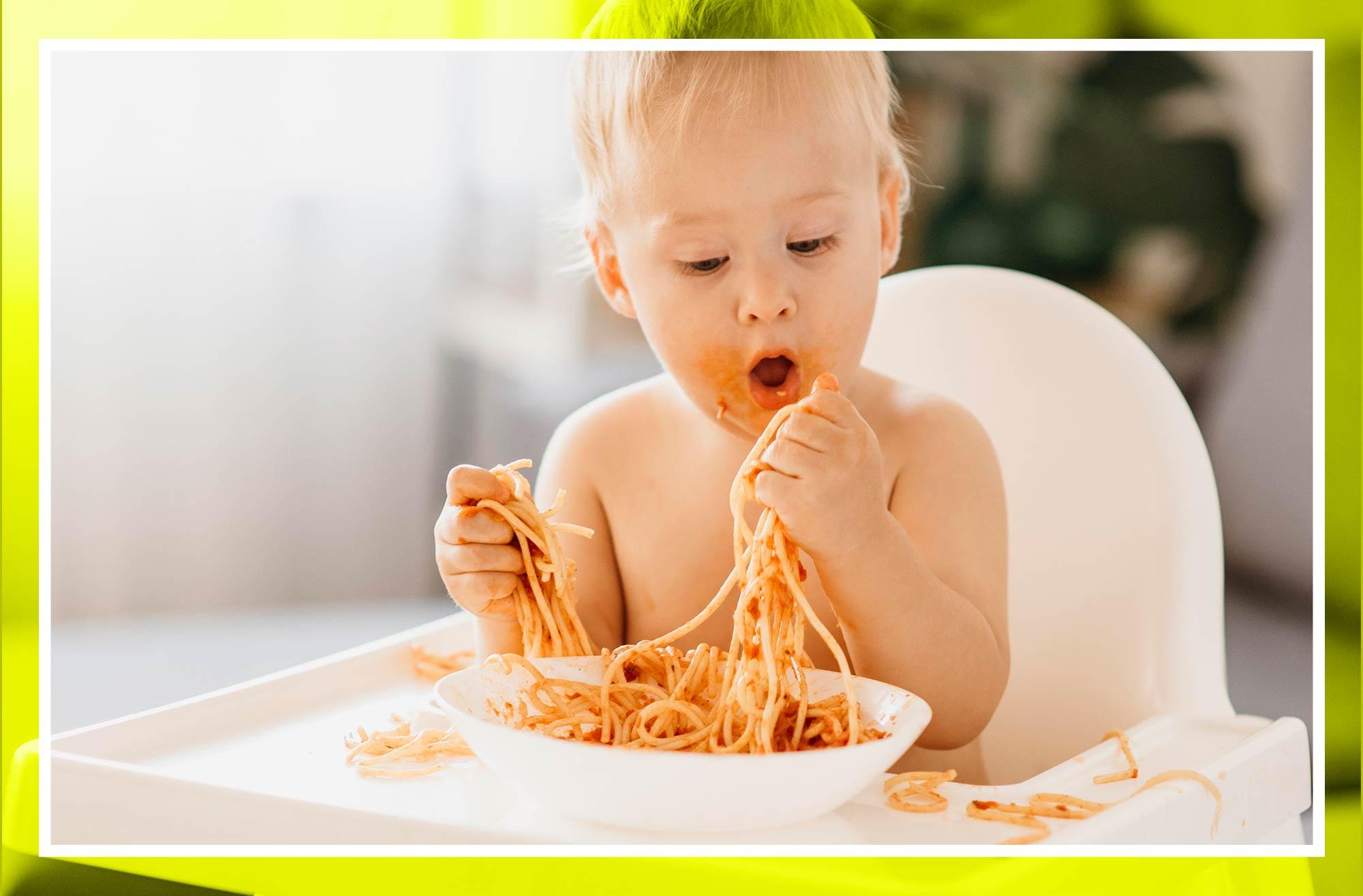 alimentación bebé por meses